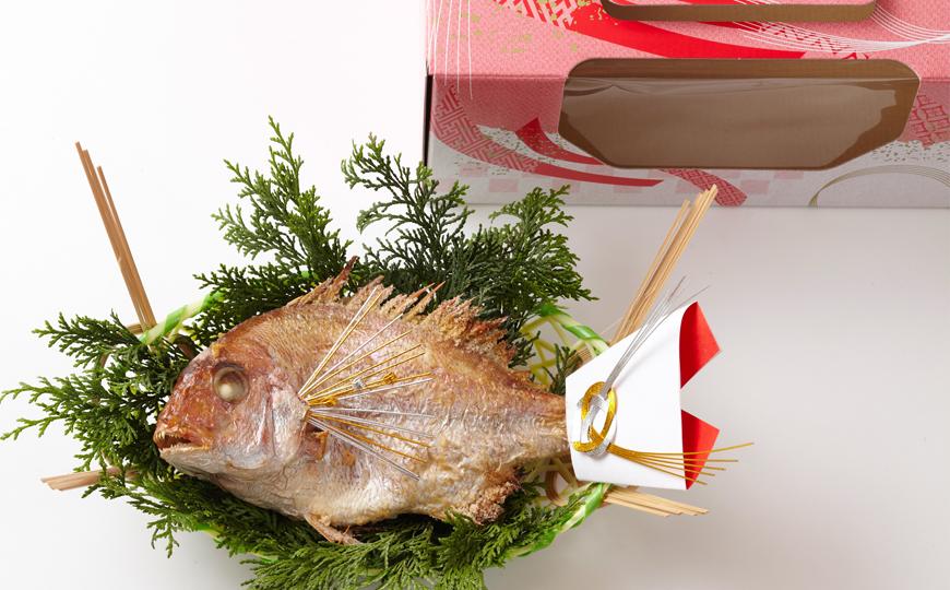 (通信販売)【天然祝い鯛姿焼き(普通サイズ)全国宅配可能】お食い初め鯛/雛祭り鯛/初節句鯛/お祝い鯛/鯛姿焼き/鯛塩焼き/こどもの日鯛/端午の節句鯛