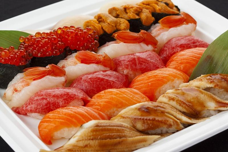 (ケータリング)特上にぎり寿司/とくじょうにぎりすし(25)