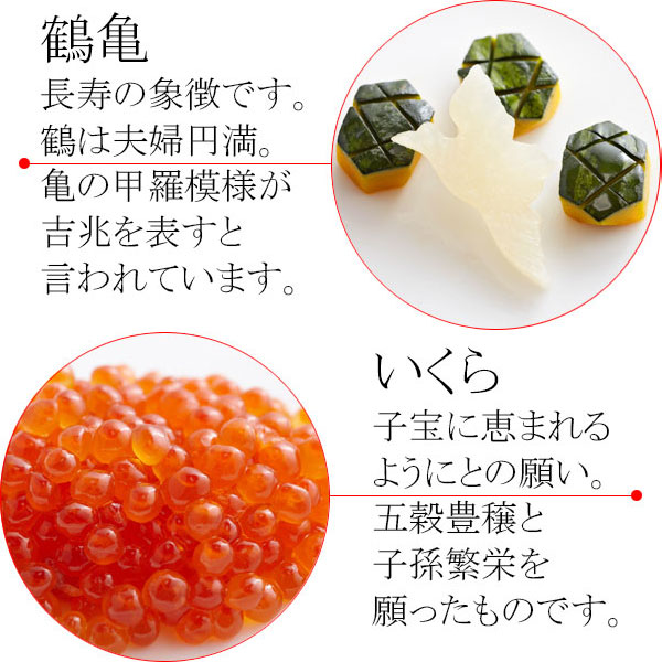 (通信販売)お食い初め料理セット 壱/おくいぞめ【全国通販可能】
