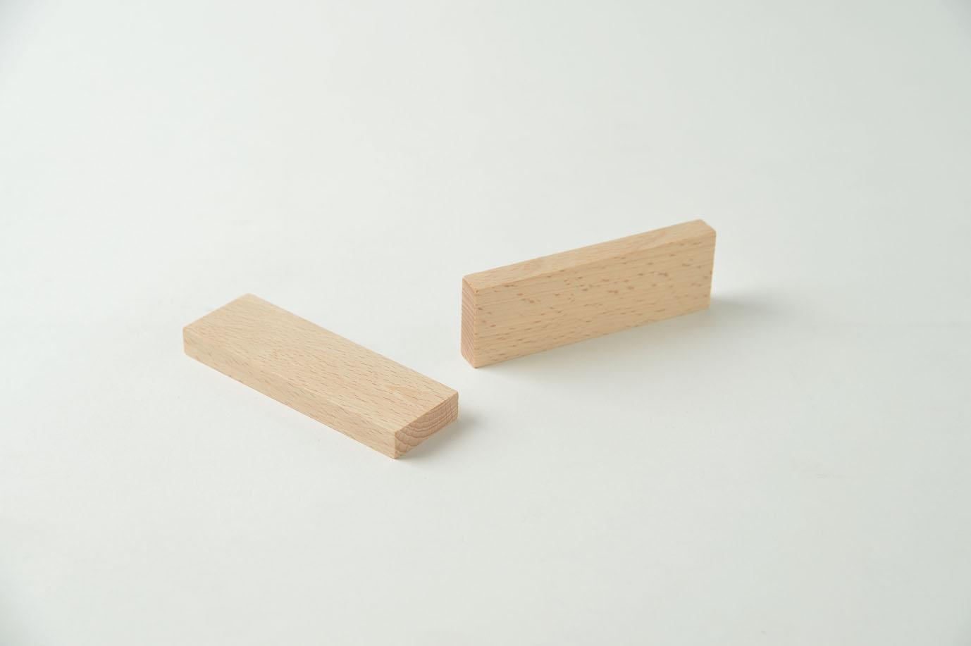 子どもお創造力を育むオリジナル木製つみき ブナつみき Mu:ku