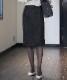 ヘリンボーンジャージータイトスカート