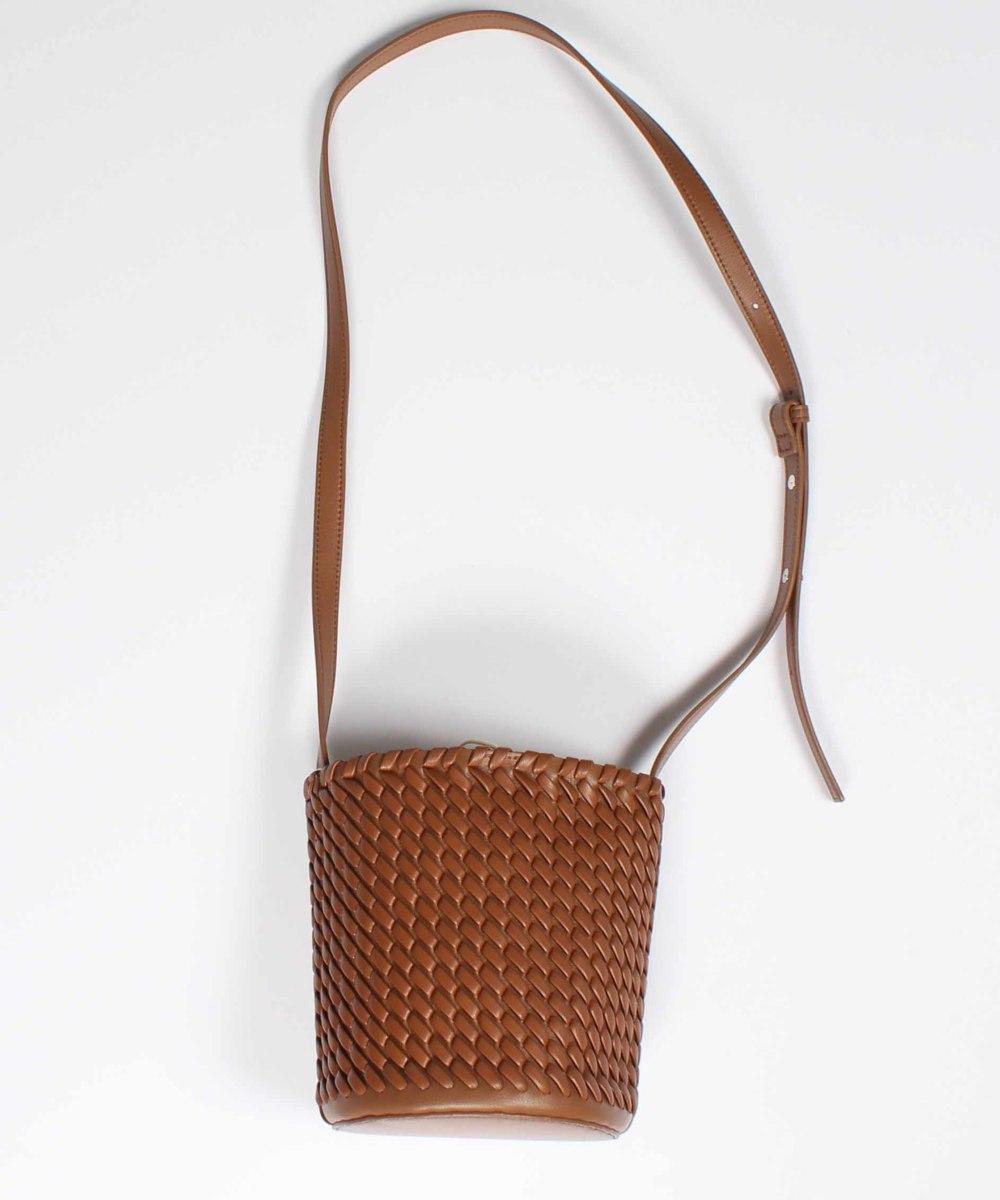 【SALE】合皮編みミニショルダーバッグ