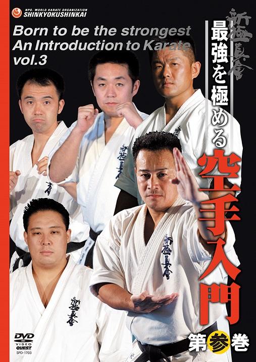 【DVD】新極真会 最強を極める空手入門 第参巻