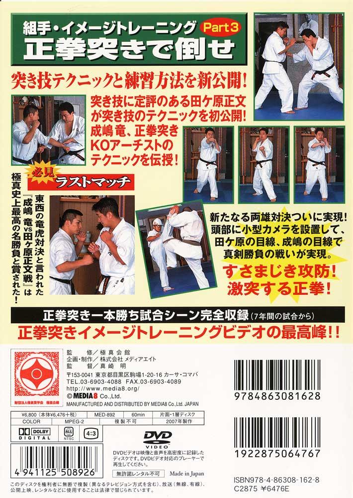 【DVD】組手イメージトレーニング Part3 正拳突きで倒せ