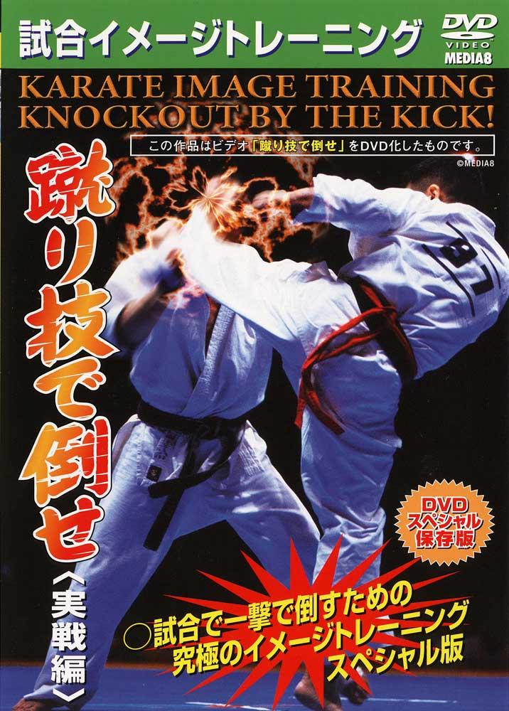 【DVD】試合イメージトレーニング 蹴り技で倒せ<実戦編>