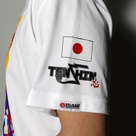 TP-007 TENSHIN×KARATE Tシャツ カラフル