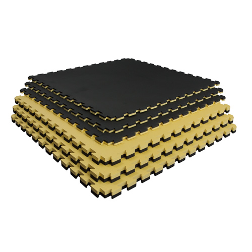 CY-5 リバーシブルジョイントマット(青/赤、黒/黄) 40mm
