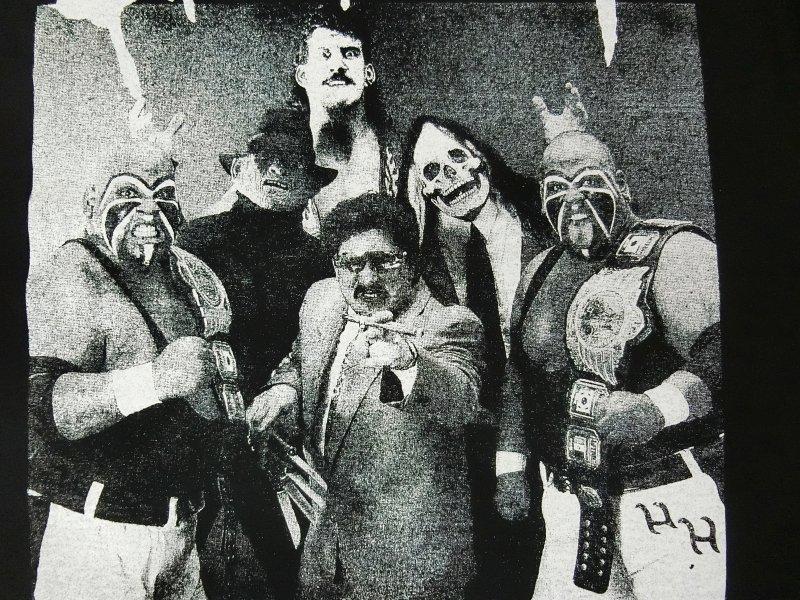ビクター・キニョネスと怪奇派軍団/吐きだめの悪魔たち(凶悪ブラック)Tee