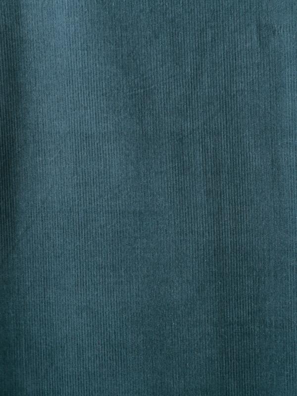 コーデュロイ&ブロックプリント・ワンピース(2カラー) 21W449