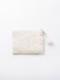 ビーズ刺繍フラットポーチS(2カラー) M42-1680  【10月上旬頃入荷予定】