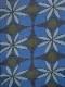 ウールガーゼ花柄プリントショール B21W079