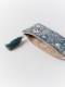 ビーズ刺繍横長ポーチ(2カラー) M42-1073