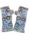サークル刺繍ハンドウォーマー (2カラー) F21W004