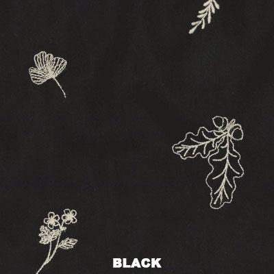 ボタニカル刺繍・プルオーバー(4カラー)21W026