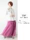起毛ソフトコットン・スカート(4カラー)21W012