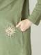 コットンスラブ・刺繍チュニック(3カラー)21W037