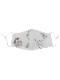 コットンバード&フラワー刺繍マスク(7カラー) F21W009