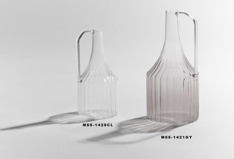 ハンドル付ガラスベースS M55-1420CL 【10月上旬頃入荷予定】