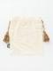 アニマル刺繍巾着L (2カラー)  M26-1744