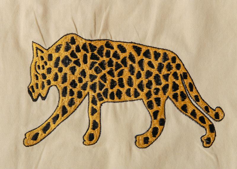 アニマル刺繍トートバッグ(2カラー) M26-1657