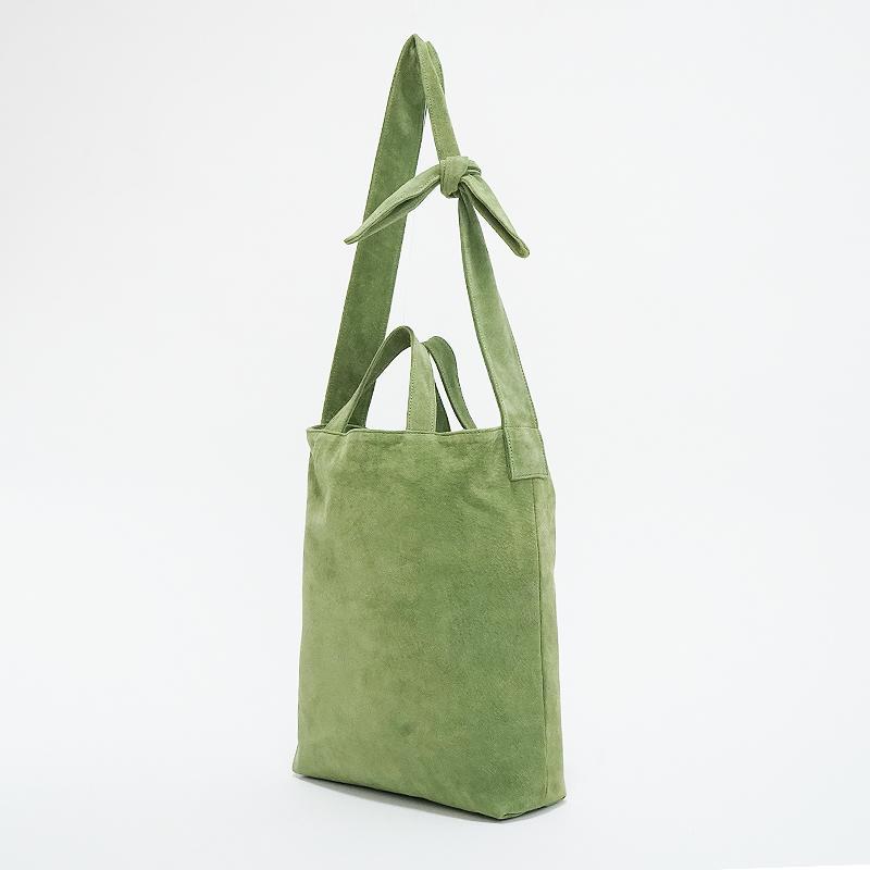洗える革の2WAYショルダーバッグ  グリーン  / T20015 Green