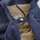 洗える革のドロップトートバッグ ネイビー / T18002 Navy