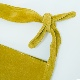 洗える革のタイショルダーバッグ マスタード / T18003 Mustard