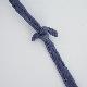 洗える革のポーチバッグ ネイビー / T18005 Navy