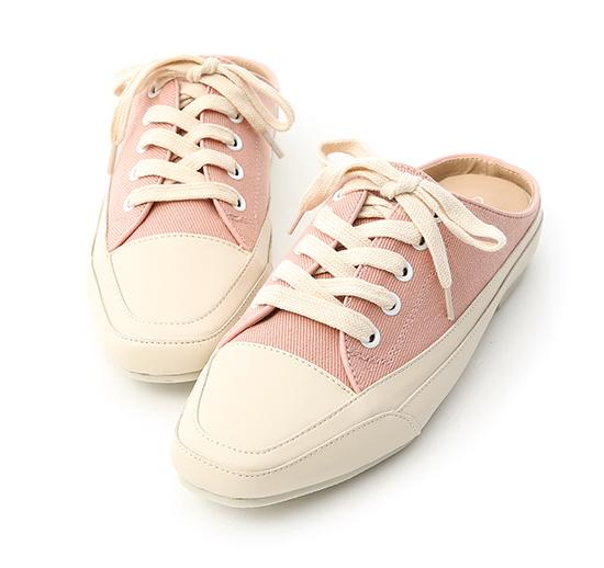 【D+AF】サンダルスニーカー ピンク