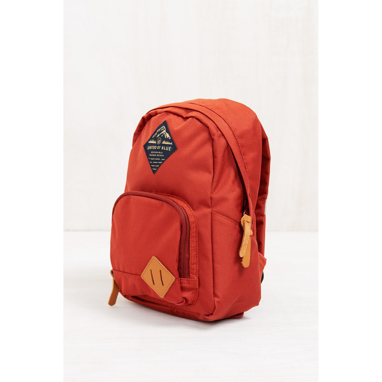 ユナイテッドバイブルー Whittier Backpack Rust