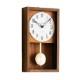 シャンブル HINOKI PENDULUM CLOCK BROWN CH-033BR