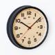 シャンブル BRAM CLOCK BLACK CH-050BK 電波時計