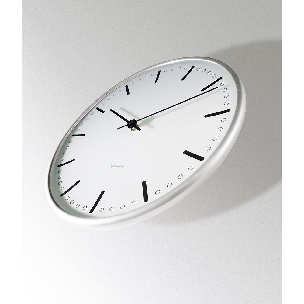 アルネ ヤコブセン Wall Clock CityHall 290mm