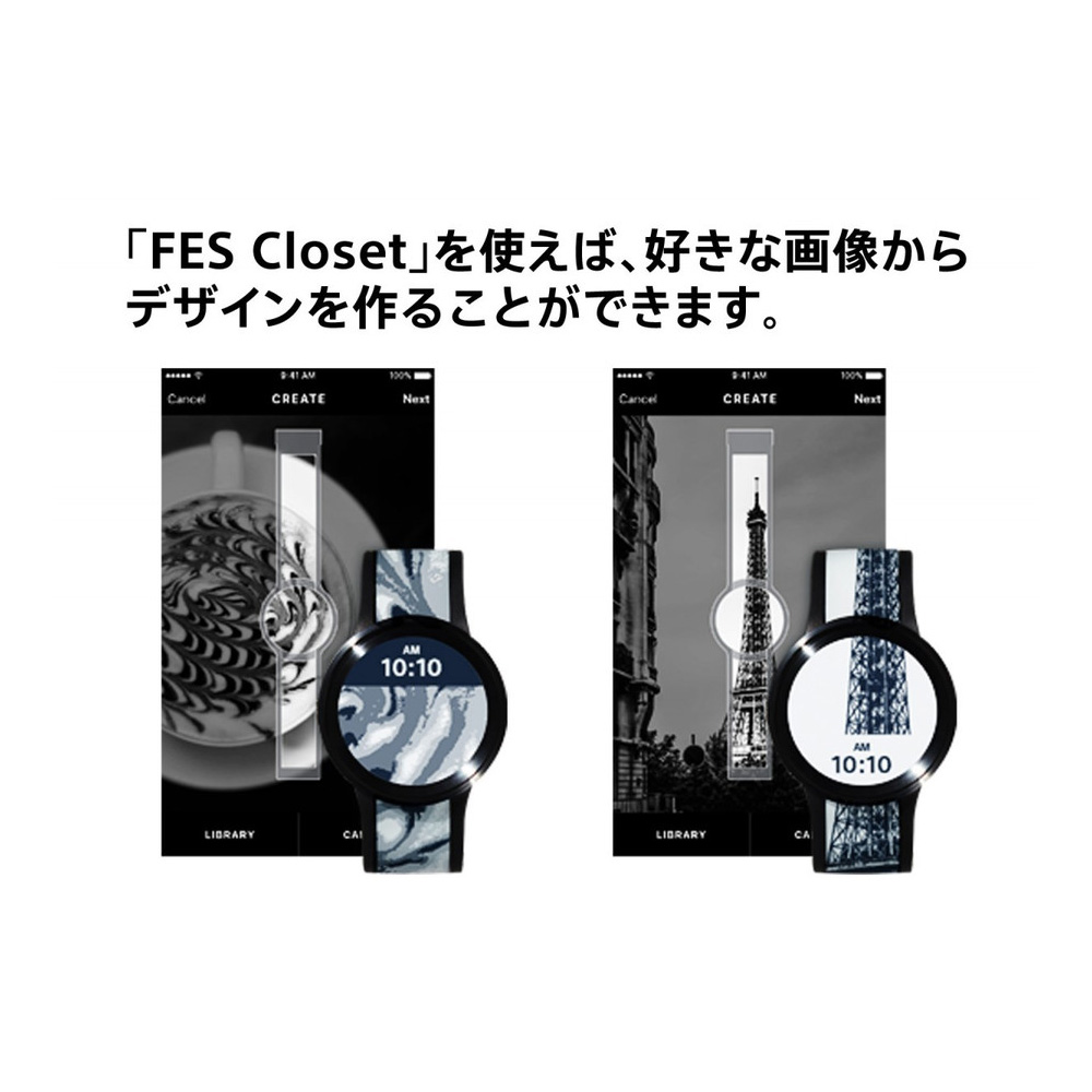 FES-WA1/B FES Watch U Premium Black