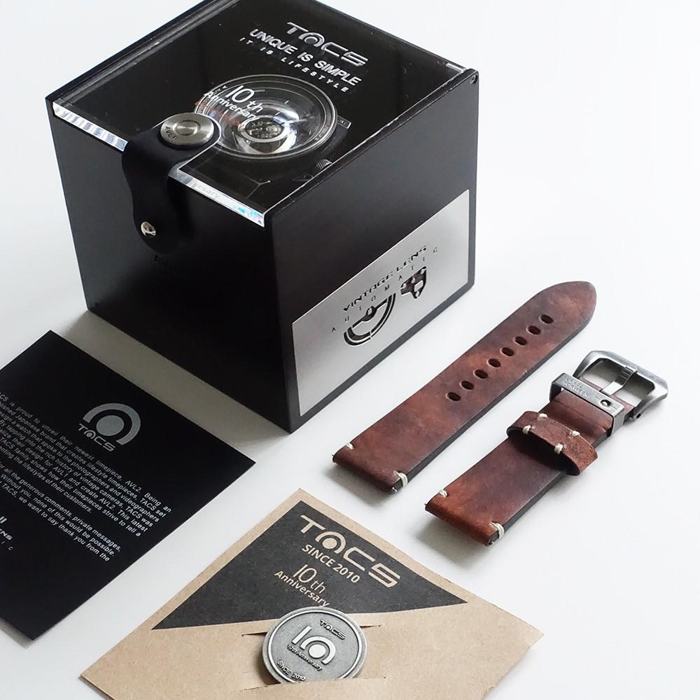 タックス 世界限定500本 VINTAGE LENS AUTOMATICII TS1803K 自動巻き機械式腕時計