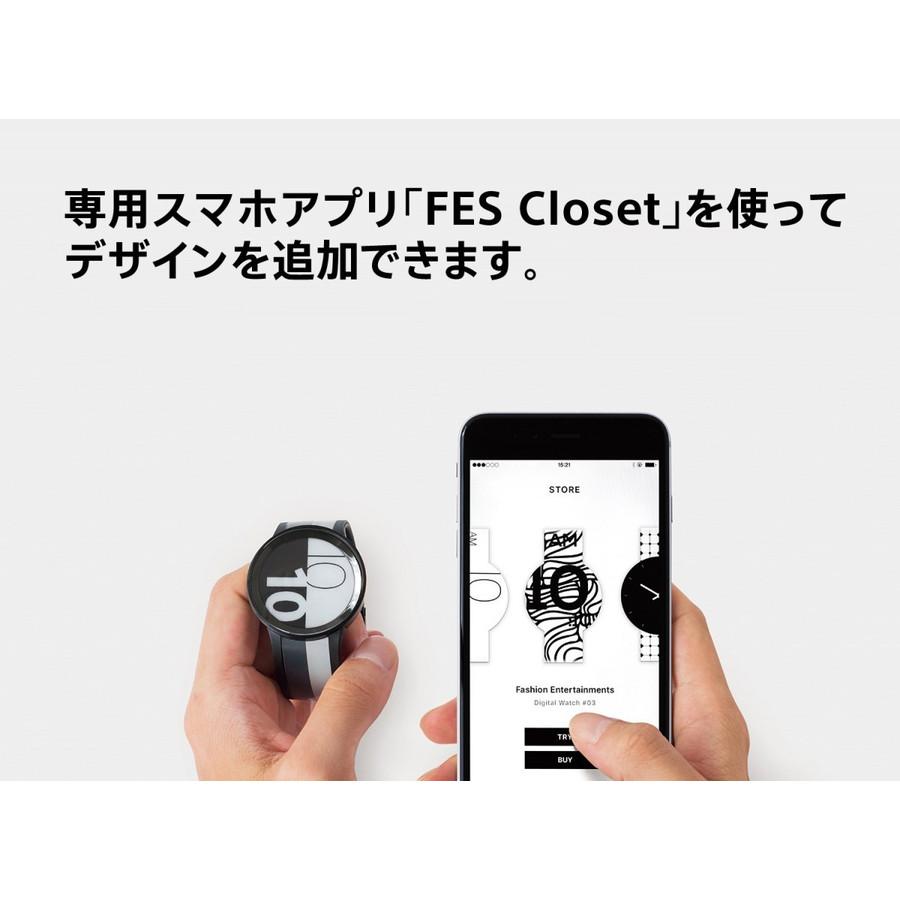 MARVEL Comics 別注モデル FES-WA1-C07/B FES Watch U Premium Black