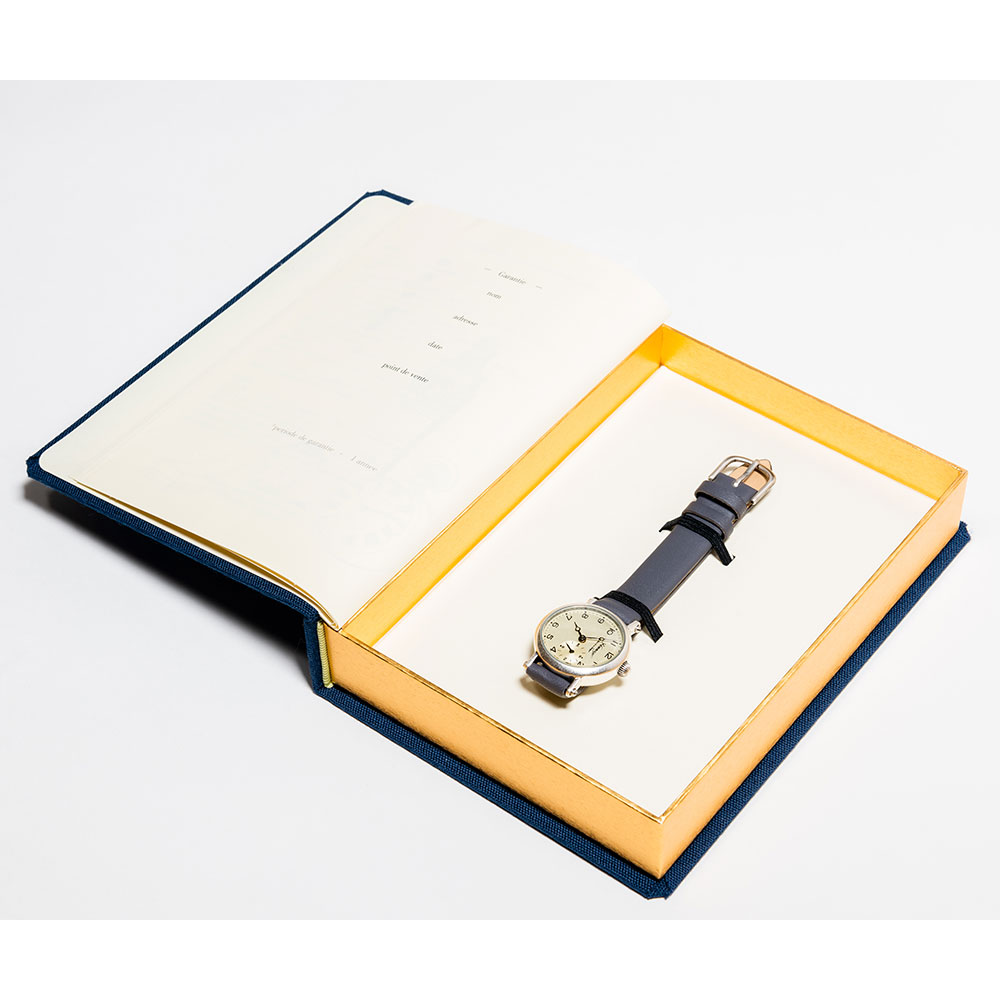 オマージュ Hommage Vouer le a l'horloger. SILVER・GRAY HG-018