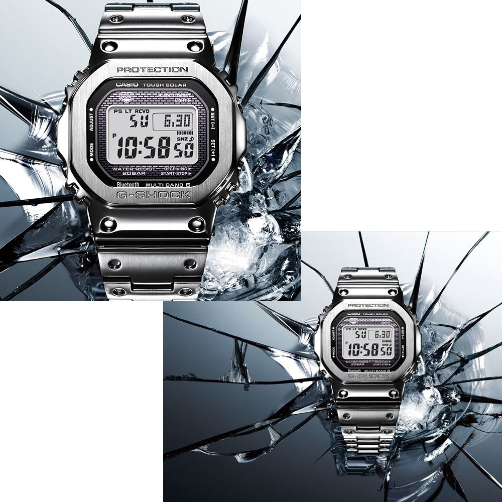 G-SHOCK 【スマホ連携/ソーラー充電/ワールドタイム】GMW-B5000D-1JF