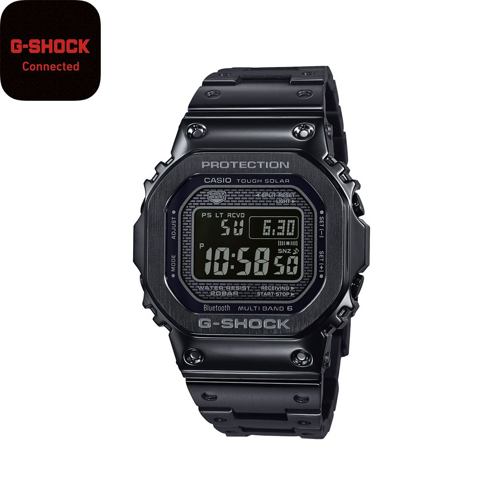 G-SHOCK 【スマホ連携/ソーラー充電/ワールドタイム】GMW-B5000GD-1JF