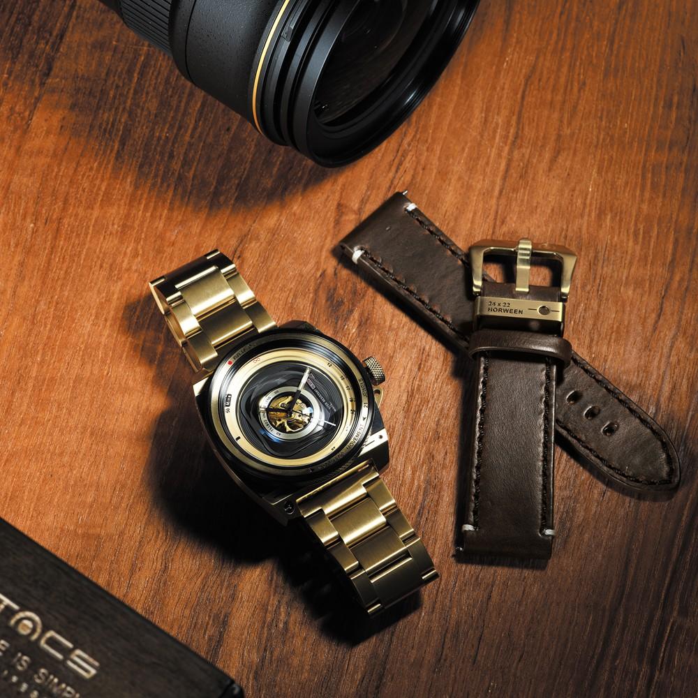 タックス 数量限定100本 VINTAGE LENS AUTOMATICII TS1803JP 自動巻き機械式腕時計