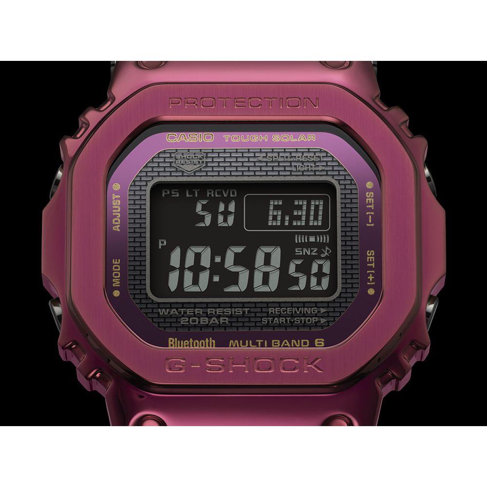 G-SHOCK 【スマホ連携/ソーラー充電/ワールドタイム】GMW-B5000RD-4JF