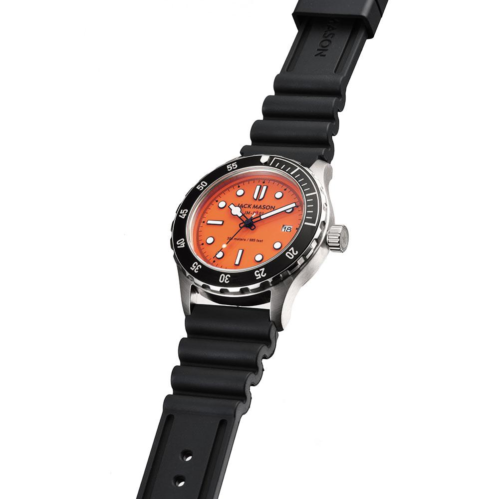 ジャックメイソン 日本限定 DIVER Rescue Orange JM-D101-026