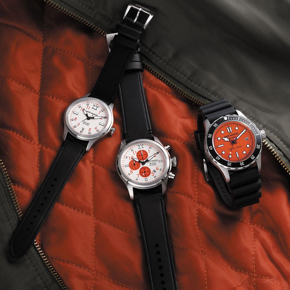 ジャックメイソン 日本限定 AVIATION Rescue Orange JM-A401-005