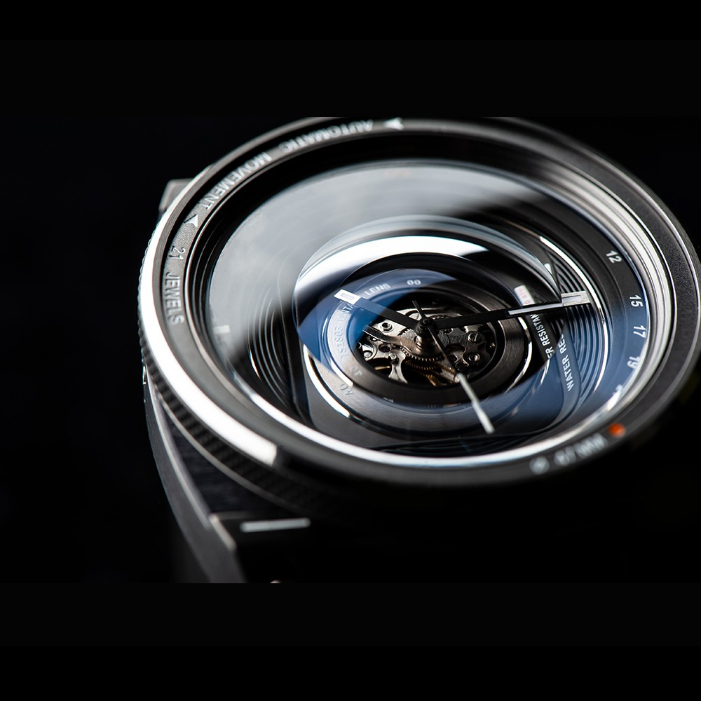 タックス 数量限定100本 VINTAGE LENS AUTOMATICII TS1803D 自動巻き機械式腕時計