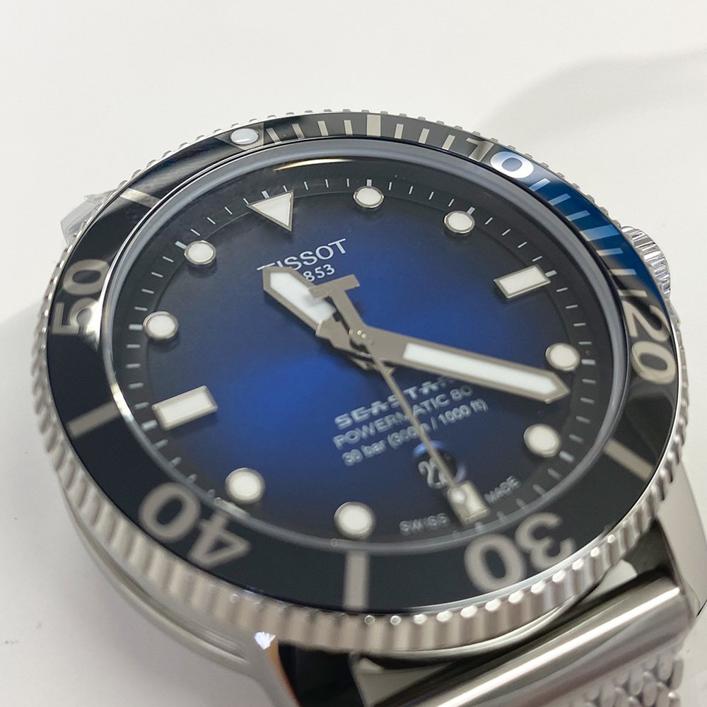ティソ SEASTAR 1000 AUTOMATIC T120.407.11.041.02