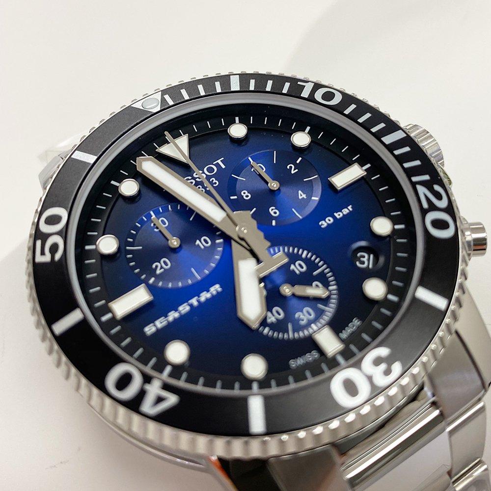 ティソ SEASTAR 1000 CHRONOGRAPH T120.417.11.041.01