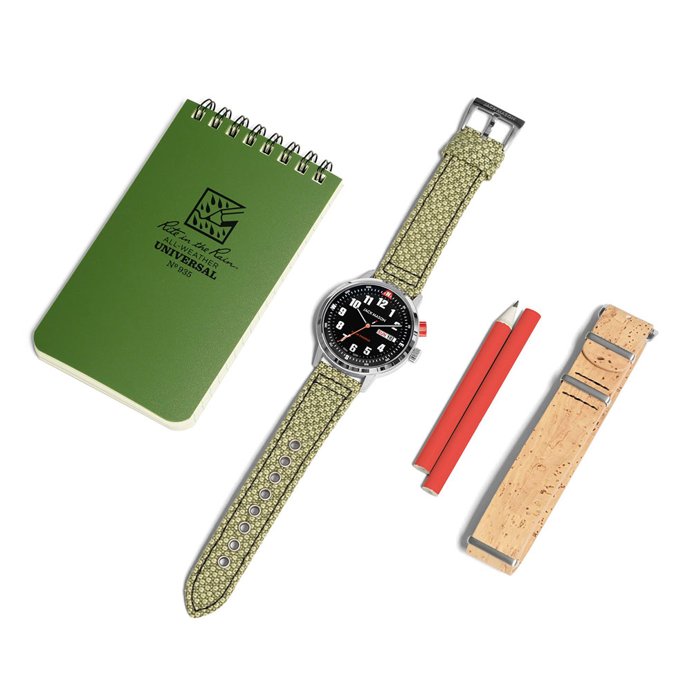ジャックメイソン 数量限定 FIELD SOLAR WATCH ECO-BOX SET JM-BS-SOL