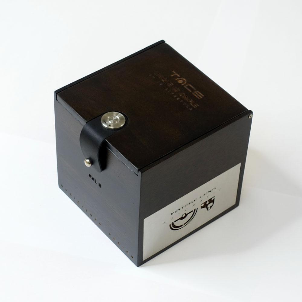タックス VINTAGE LENS AUTOMATICII TS1803 自動巻き機械式腕時計