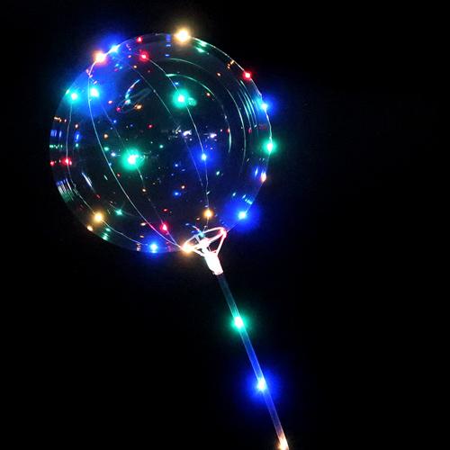 光る!キラキラ輝く風船