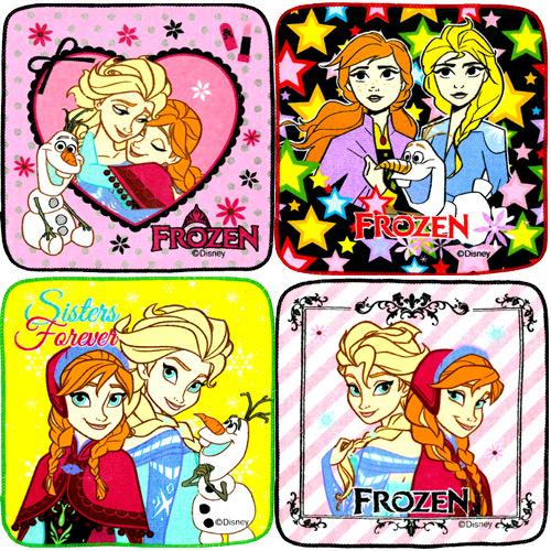 アナと雪の女王 ミニタオル